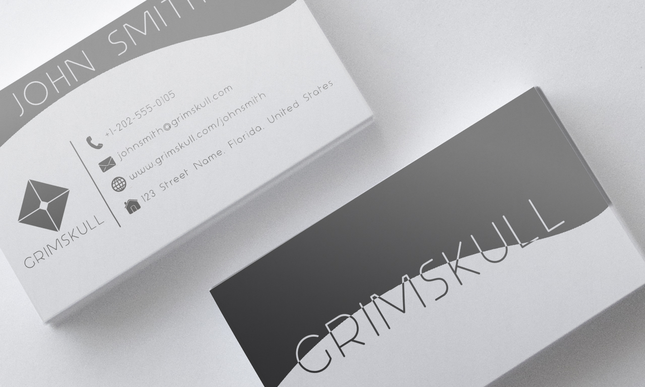 Red black and white business card template by nik1010 on deviantart black and white business card template by nik1010 accmission Images
