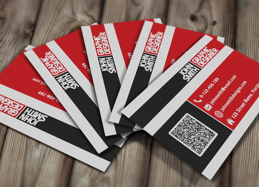 Black And Red Business Card Template By Nik1010 On Deviantart