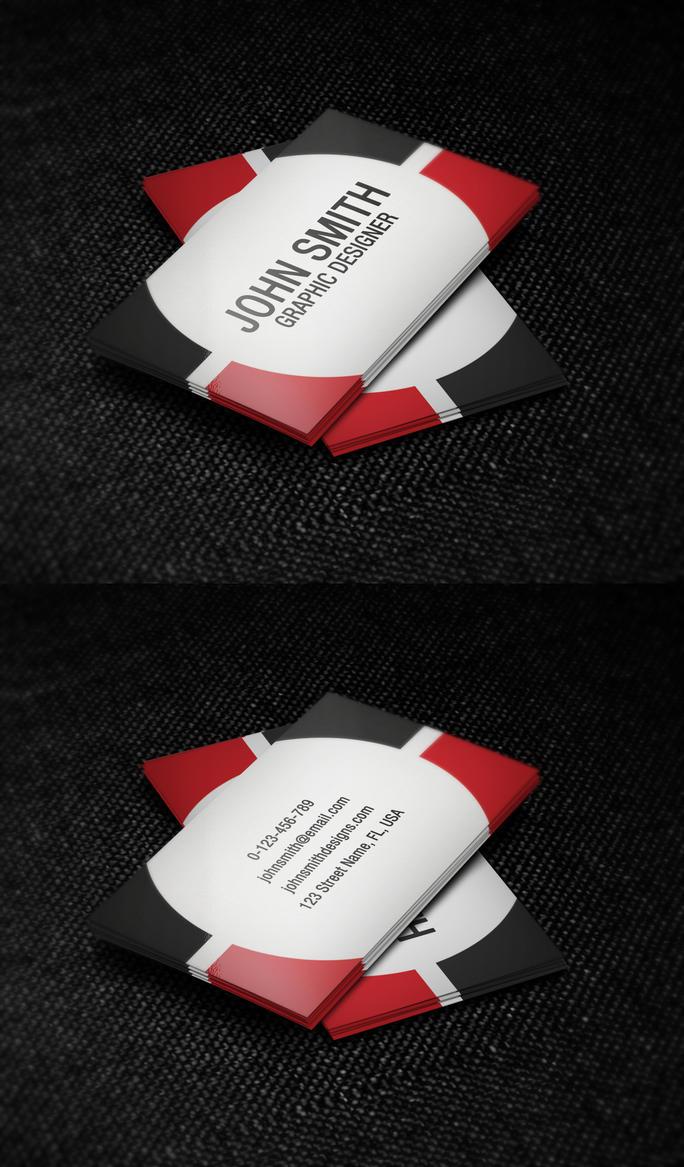 Mechanic Business Cards Design
