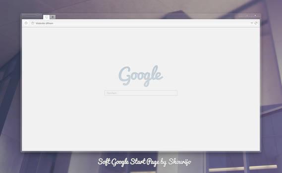 Soft Google Start Page