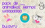 Pack de animalitos tiernos by Avru