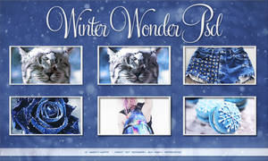 Winter Wonder PSD Coloring by Sweety-Muffin