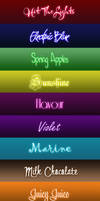 Neon Text Styles by Sweety-Muffin + Fonts