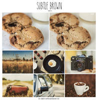 Subtle Brown PSD Coloring by Sweety-Muffin by Sweety-Muffin