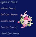 My Friends Birthday In June