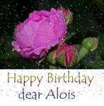 Happy birthday dear Alovis