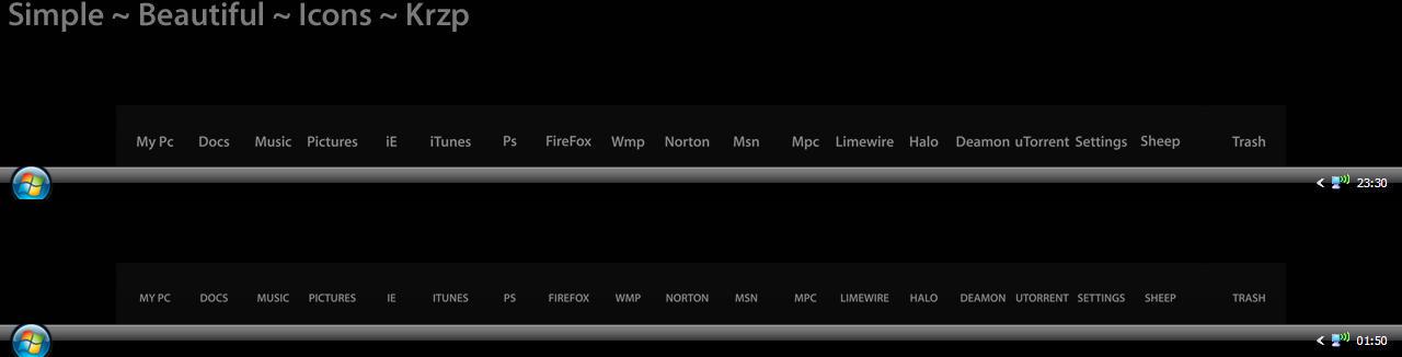 Krzp Dock Icons v.1.2