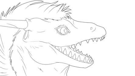 Animation: Surprised Dragon