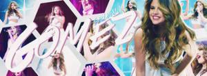 Selena Gomez Free PSD Header