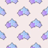 Pastel Stars - Free Tiled BG