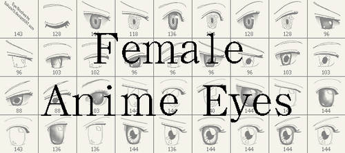 PSBrushes - Anime Eyes Updated by sakura13