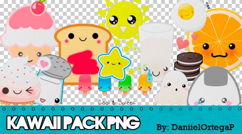 Kawaii PNG Pack by DaniielOrtegaP
