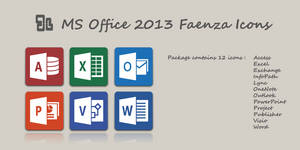 MS Office 2013 Faenza Icons