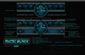 SUPER BLACK Sysmetrix Skin by d4fmac