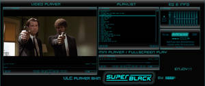 SUPER BLACK  VLC player