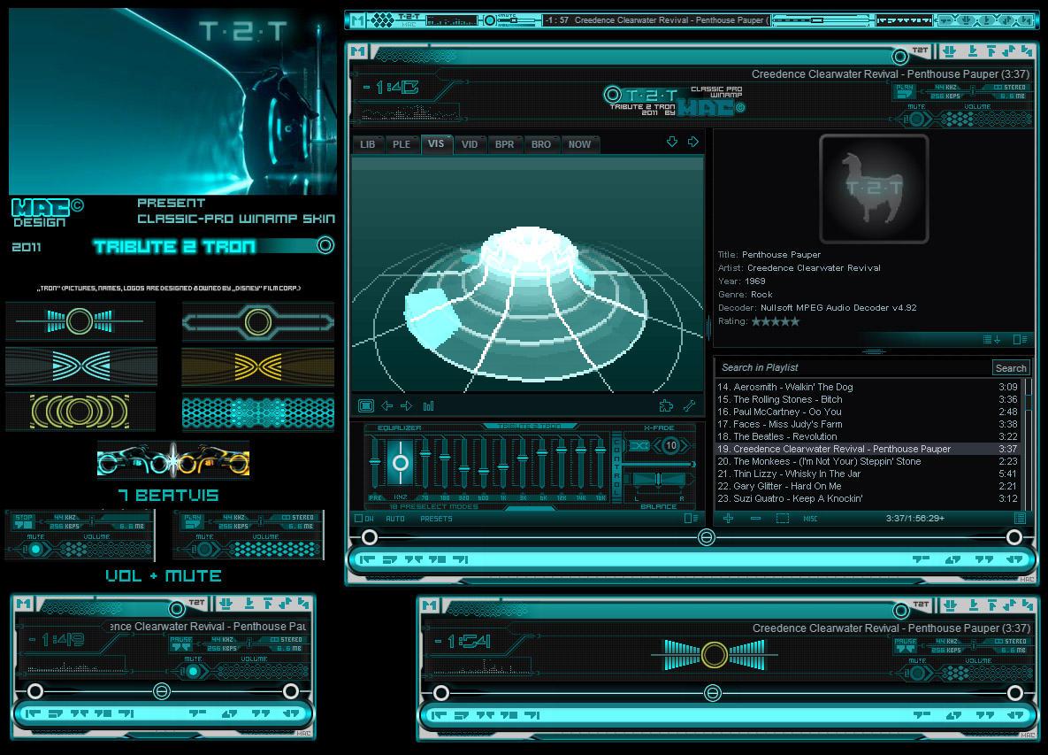 T2T - Tribute 2 TRON cPro Skin by d4fmac