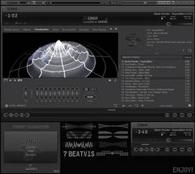 'CANUS' cPro Winamp Skin by d4fmac
