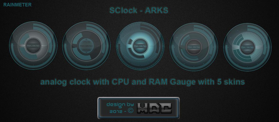 SClock-ARKS 1.1 by d4fmac