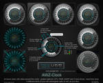 AWZ-Clock (for Rainmeter)