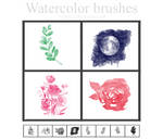 Watercolor brushes #2