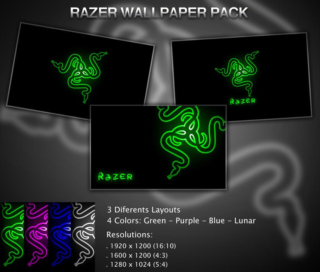 Razer Wallpaper Pack by diegomarino