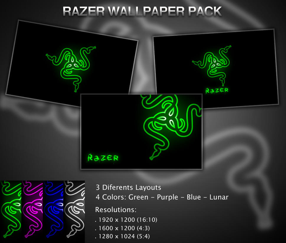 Razer Wallpaper Pack by diegomarino