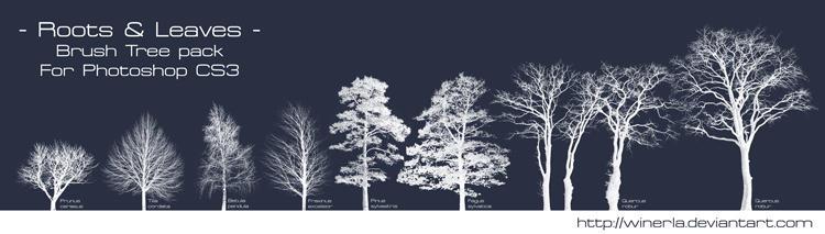 Tree Brush - Brushes Pack by Winerla