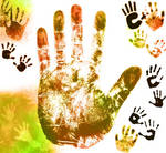 Handprint Brushes
