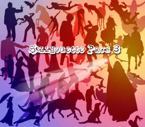 Sillhouettes Brush Pack 3