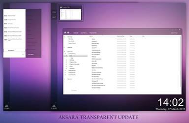 Aksara Transparent Update