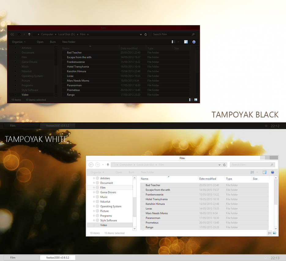Tampoyak for Windows 8