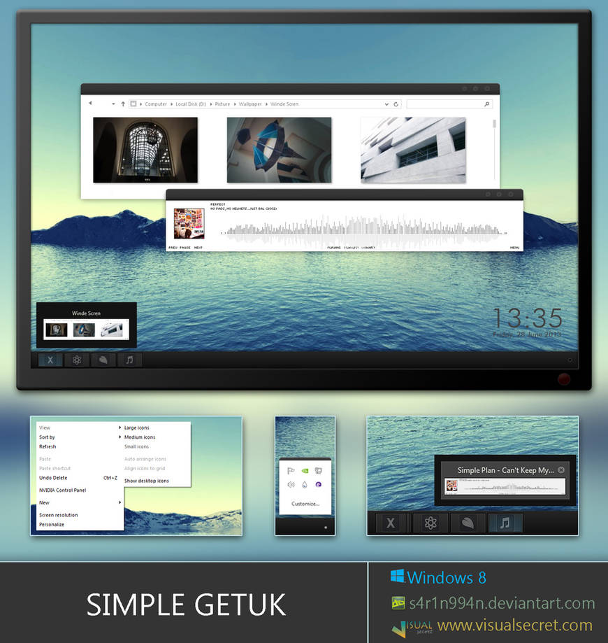 Simple Getuk for Windows 8