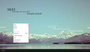 Simple Getuk Clock 1.0