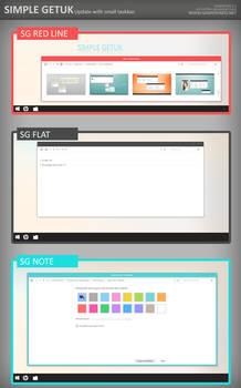 Simple Getuk Pack Windows 8.1 (Update)