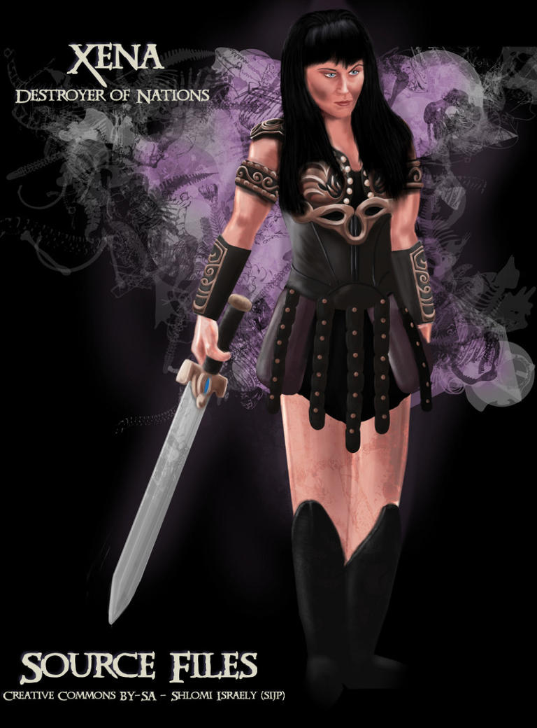 Xena - Destroyer of Nations - The SOURCE by sijp