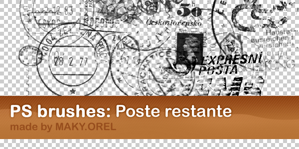PS BRUSHES: Poste restante