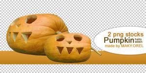 PNG STOCK SET: Pumpkin (special for Halloween)