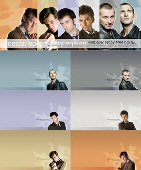 WALLPAPER SET: Doctor Who - 9, 10, 11