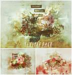 Grunge Floral Texture