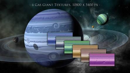 Gas Giant Textures