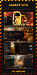 CAUTION WINDOWS 7 THEMES by bbosa