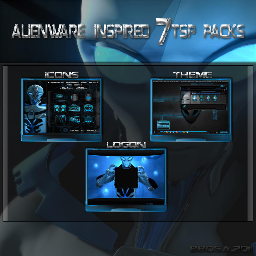 Windows Xp Theme File Software: Alienware Desktop Theme Windows 7 Download Free Software