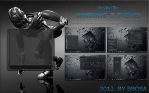 RoBoTs  windows 7 themes by bbosa by bbosa