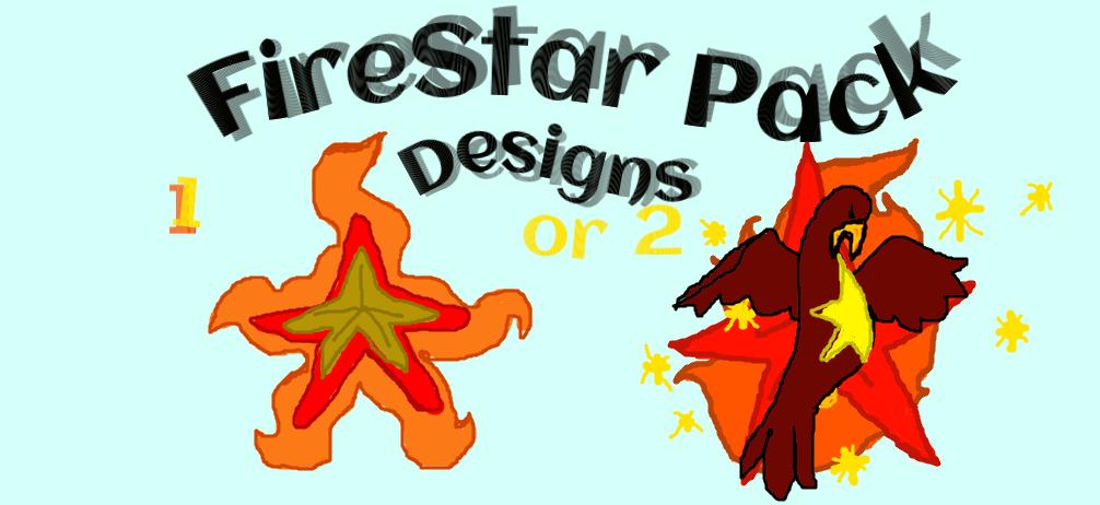 what logo for firestar pack by evathekerr