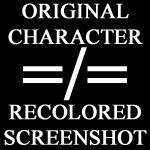 OC is not painted screenshot by IamHereToWarnYou