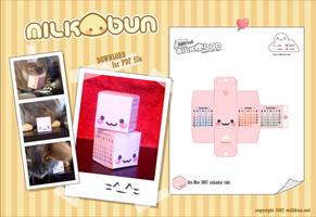 2007 Pink Calendar Toki by milkbun