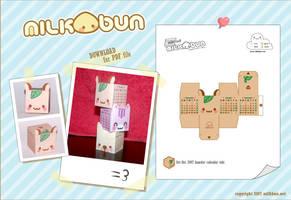 2007 Hamster Calendar Toki by milkbun