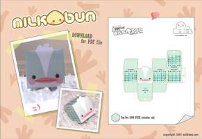 2008 Sep-Dec DUCK Calendar by milkbun