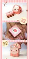 Valentines Cake + Cake Box