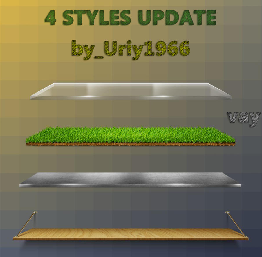 Updated skins 4 styles. by Uriy1966